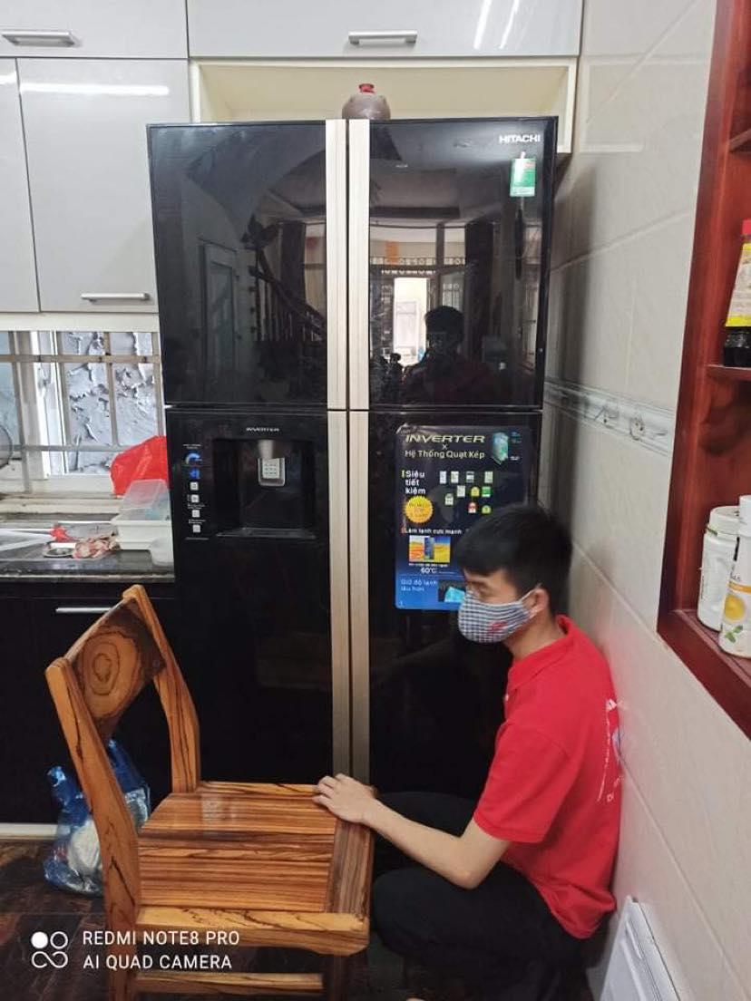 Sửa tủ lạnh Hitachi side by side | Sẵn sàng phục vụ 24/7