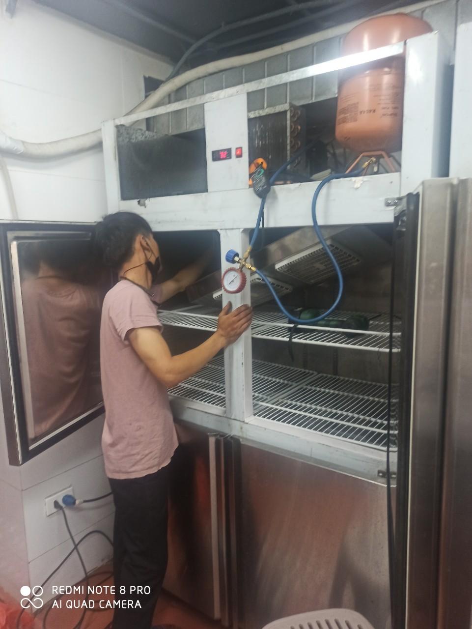 Thay block tủ lạnh công nghiệp